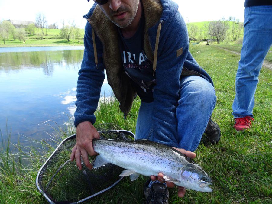 la lettre d ouverture de la pêche à la mouche du lac des Estives