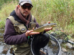 Auvergne La Sioule, pêche à la mouche, guide de pêche à la mouche