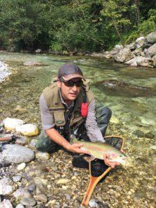 Guide de pêche à la mouche en Slovénie jmc mouche de charrette auvergne