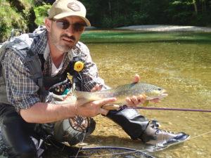 truite fario stage de pêche